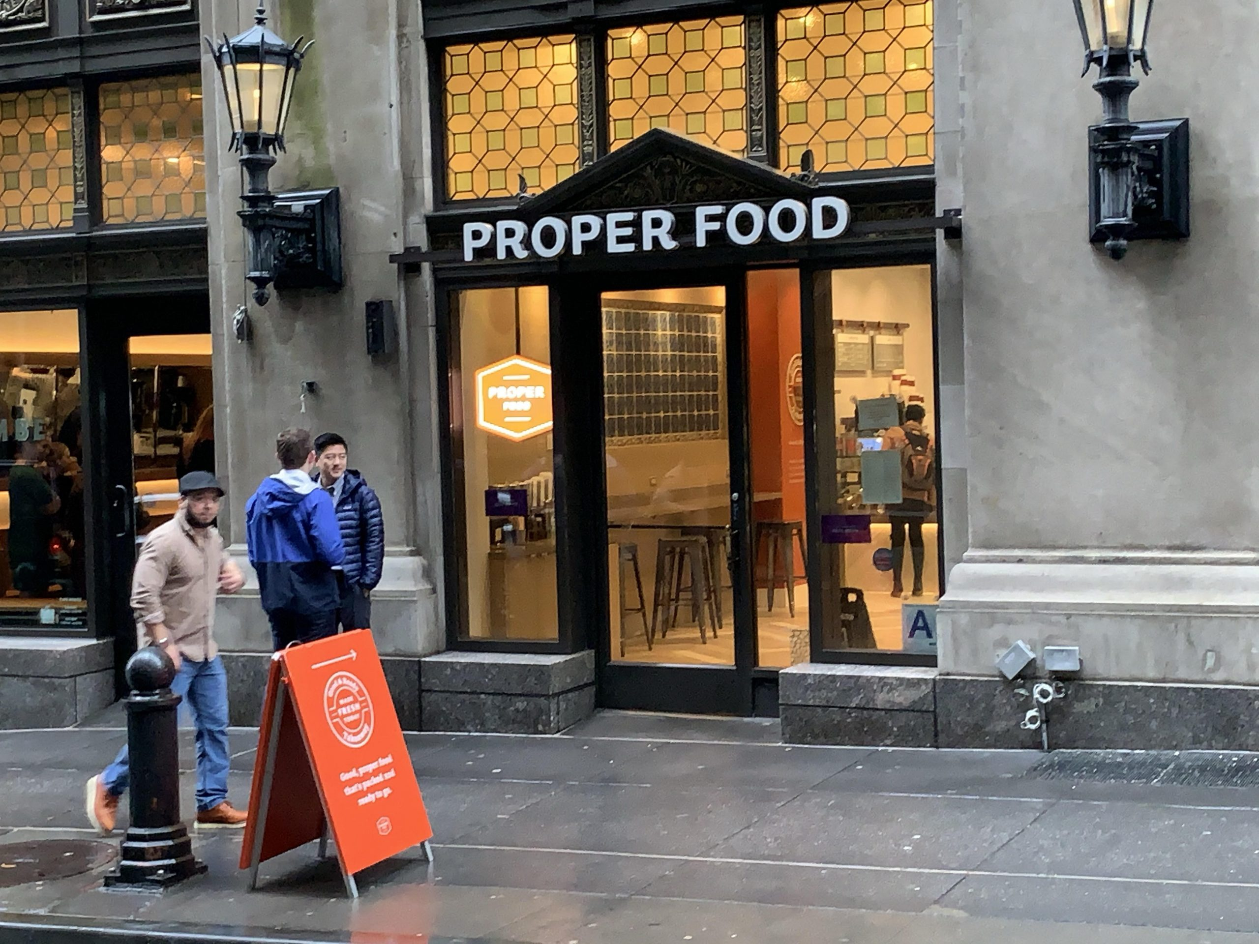 SD Works Proper Food Retail Architectural Signage NYC