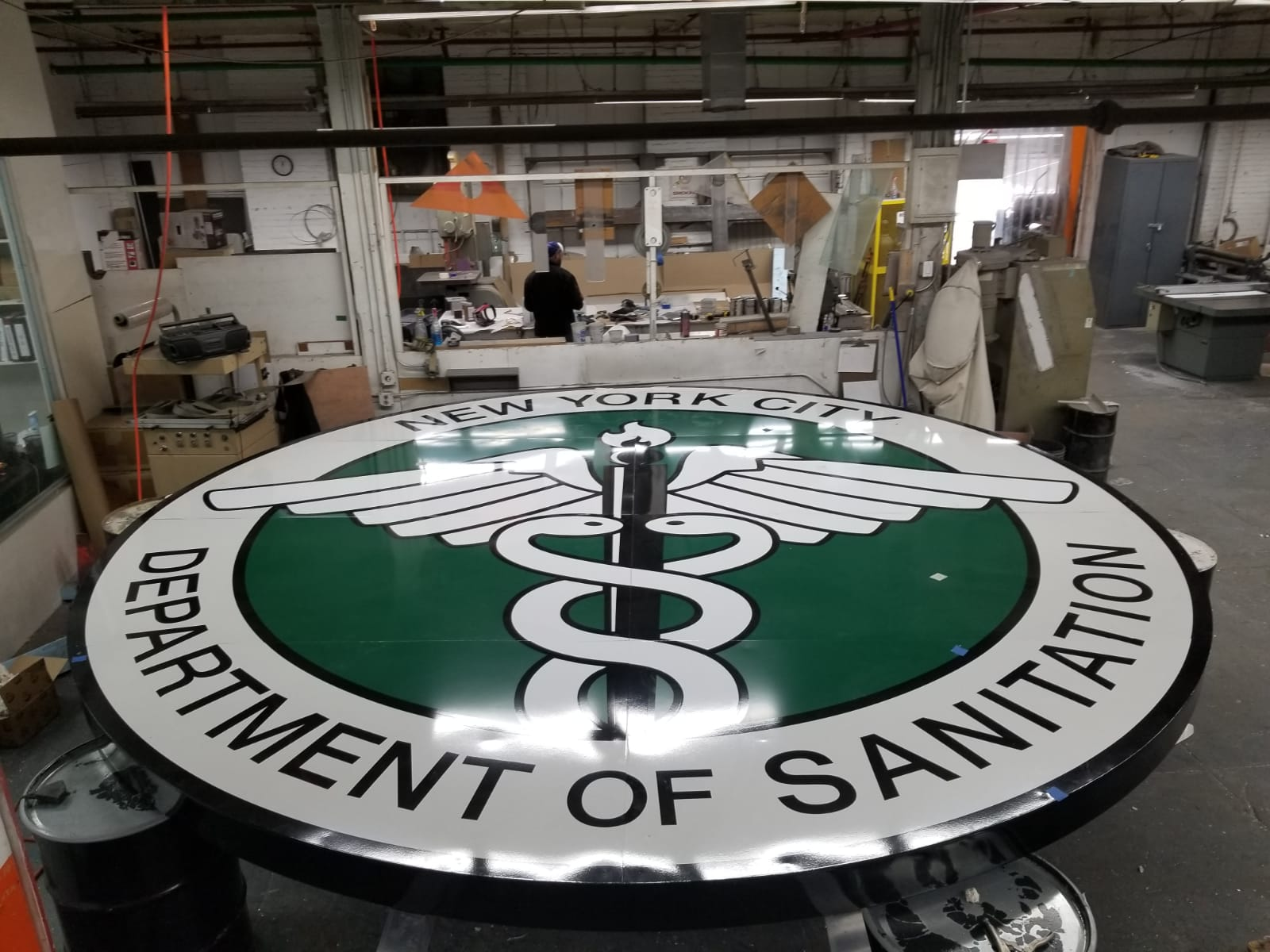 Signs and Decal Architectural Signage NYC Dept of Sanitation 5