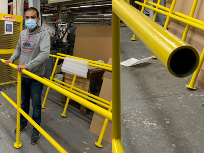 Fabricating and Installing Safety Rails