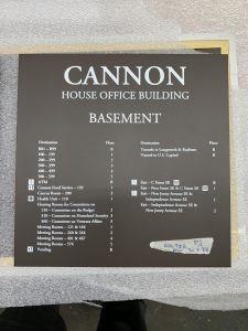 SD Works Cannon House Modular Signage Systems NYC 77